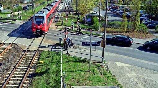 Infrastruktur Bergholz-Rehbrücke