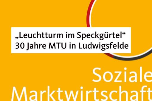 """30 Jahre MTU in Ludwigsfelde-Glückwünsche von Saskia Ludwig: """"Leuchtturm im Speckgürtel"""""""