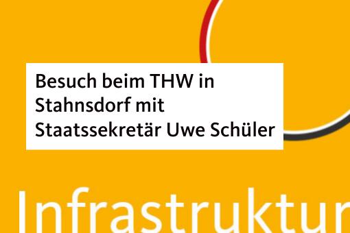 Besuch beim THW in Stahnsdorf