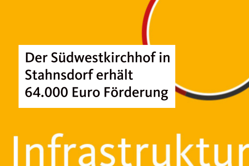 Der Südwestkirchhof in Stahnsdorf erhält 64.000 Euro Förderung